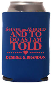 wedding koozie ideas custom wedding koozies wedding can coolers totallyweddingkoozies