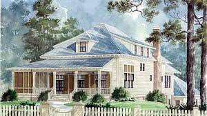 Southern Low Country House Plans Southern Living House Plans Coastal House Plans