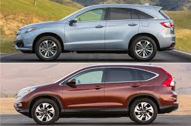 lexus rx or honda pilot rdx vs cr v 5 reasons to splurge on the acura and honda