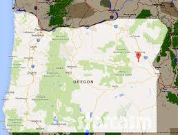 map where is gold todd hoffman s oregon gold mine located