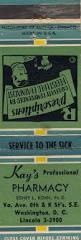 112 best historic washington dc matchbook covers images on https flic kr p qewl3r kay s pharmacy kay s