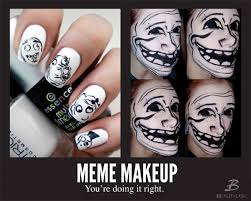 Nail Art Meme - meme makeup internet inspired beauty beautylish