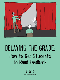 how to write a talking paper delaying the grade how to get students to read feedback cult of i have a confession to make i am terrible at handing back papers that sounds silly right i mean you literally just hand the paper to the kid whose name