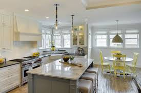Kitchen Island With Seating by Kitchen Islands As Banquettes