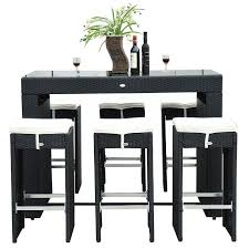Bar Table And Stool Set Best Bar Table And Stool Kitchen Dining Room Pub Intended For Set
