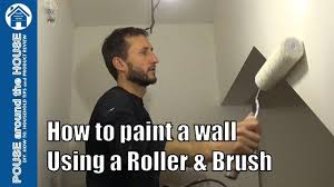 what type of paint roller to use on kitchen cabinets how to paint emulsion using a roller and brush beginners guide diy painting made easy