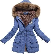 aro lora women s faux fur hooded cotton padded parka long jacket
