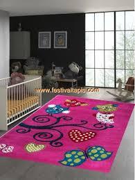 tapis rond chambre tapis pour chambre d enfant birdy