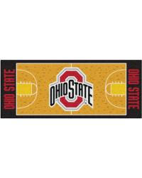 Ohio State Runner Rug Ohio State Buckeyes Decor Ncaa Decor