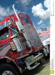 american flag truck american truck with stars and stripes flag royalty free stock