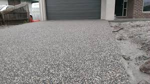 exposed aggregate driveway my concrete pinterest exposed