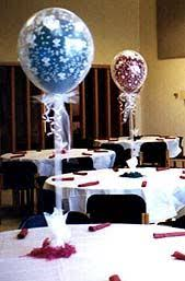 centerpieces for class reunions engagement party helium balloons 10 table decorations many 360