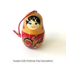 russian doll christmas tree decorations love russia charity