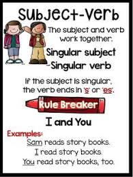 subject and verb agreement worksheets free worksheets