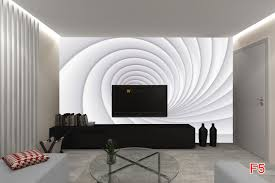 mural 3d spiral in 2 colors white und cyclamen wall mural 3d spiral in 2 colors white und cyclamen