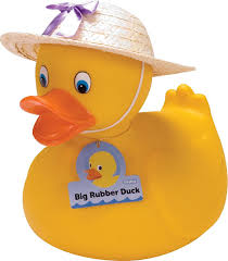 amazon com schylling large rubber duck toys u0026 games