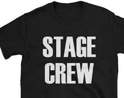 stage crew etsy