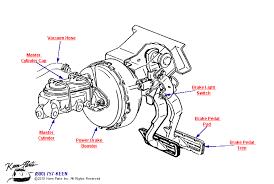 keen corvette c3 corvette power brake pedal booster parts parts