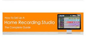 Home Recording Studio Design Book How To Set Up A Home Recording Studio The Complete Guide U2013 Tunecore