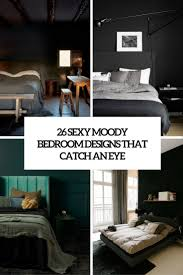 Bed Designs 26 Moody Bedroom Designs That Catch An Eye Digsdigs