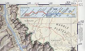 Grand Canyon National Park Map Grand Canyon Trail Map 5th Edition Sky Terrain Kent Schulte