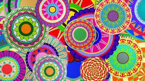 colorful flower designs walldevil