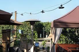 string light company café 35 ft outdoor commercial string lights