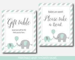 baby shower sign mint baby shower table signs bundle mint green baby shower