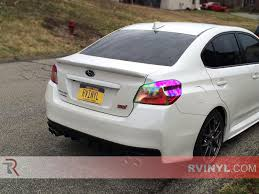 subaru colors rtint chameleon smoke tint car wrap film