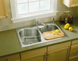 kohler fairfax kitchen faucet kohler k 12172 cp fairfax single kitchen sink faucet
