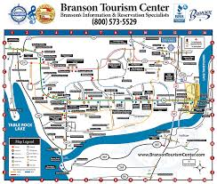 map of branson missouri missouri map