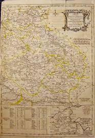 Bohemia Map Prints Old U0026 Rare Germany Page