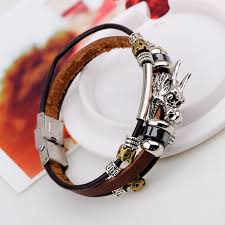 bracelet fashion men images New vintage men bracelet dragon leather bracelet free monday shop jpg