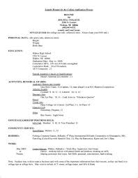 resume for college application sle sle high resume college application 28 images exle
