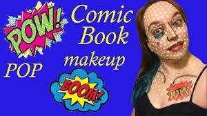 Halloween Makeup Comic Comic Book Pop Culture Halloween Makeup Costume Youtube