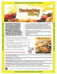 thanksgiving safety at home travel stuttgartcitizen