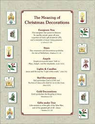 the meaning of tree ornaments pdf cheer