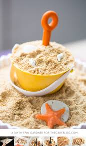 edible sand what to do with cake scraps