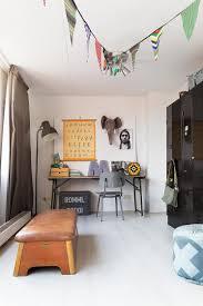 chambre d enfant vintage aménager un coin bureau d enfant vintage indus