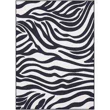 Black Area Rugs Walmart by Zebra Print Rug Walmart Roselawnlutheran