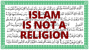 islam is not a religion the vortex