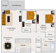 Two Bedroom Floor Plans by Awesome 90 2 Bedroom Luxury Apartment Floor Plans Decorating