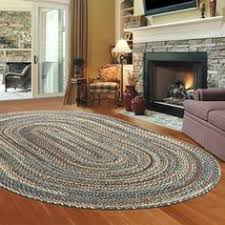Braided Kitchen Rug The Americana Rug In Country Red Is Made In The Usa This