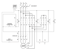 wiring diagram wiring diagram for motor starter 3 phase single