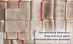 harvard referencing u2013 free articulate storyline template design