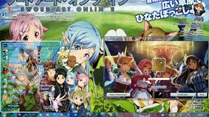 theme google chrome sword art online tema seven sword art online win 7 theme by hatsuantho windows 7