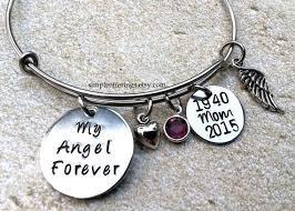 memorial bracelets for loved ones my angel forever bracelet memorial jewelry by simpleofferings