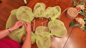 how to make a mesh wreath diy poly mesh wreath factory direct craft