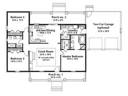 100 one story 4 bedroom house floor plans single story open