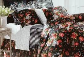Black Floral Bedding Ralph Lauren Floral Bedding Ralph Lauren Guinevere King Duvet